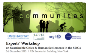 Communitas Experts' Workshop
